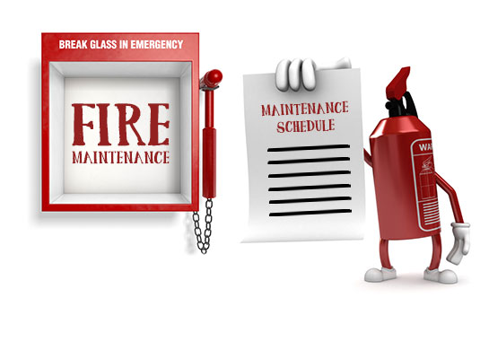 Service Maintenance Crays Fire