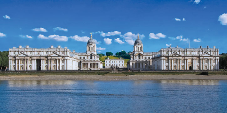 Old Royal Naval College Greenwich Crays Fire